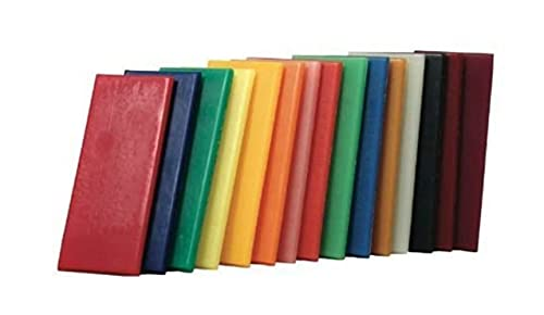 Stockmar Natural Modeling Beeswax - Set of 15 Colors in Box
