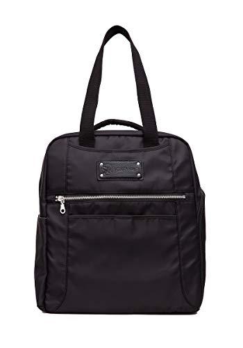 Sarah Wells Kelly Convertible Breast Pump Bag and Backpack (Black)