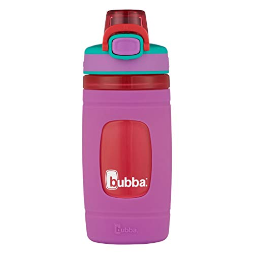 bubba Flo Kids Water Bottle, 16 Ounce, Mized Berry with Watermelon