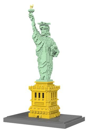 dOvOb Statue of Liberty Micro Mini Blocks Building Set (2510PCS) - Architectural Model Toys