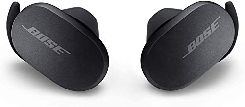 Bose QuietComfort Noise Cancelling Earbuds - True Wireless Earphones, Triple Black, the World's Most Effective Noise Cancelling Earbuds