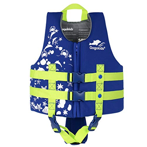 Gogokids Kids Swim Vest Life Jacket - Boys Girls Floation Swimsuit Buoyancy Swimwear