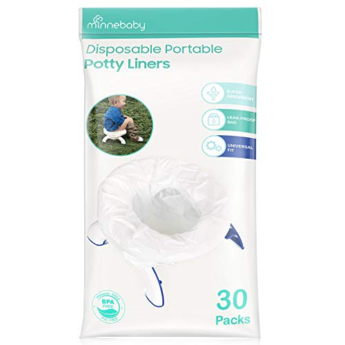 Disposable Potty Liners, Refill Potty Bags, Universal Fit, 30 Counts