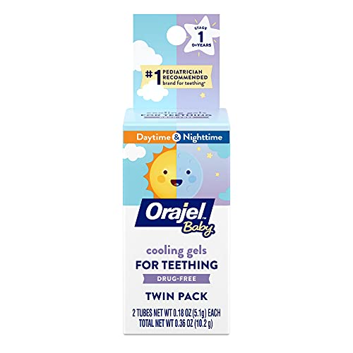 Orajel Baby Daytime and Nighttime Non-Medicated Cooling Gels