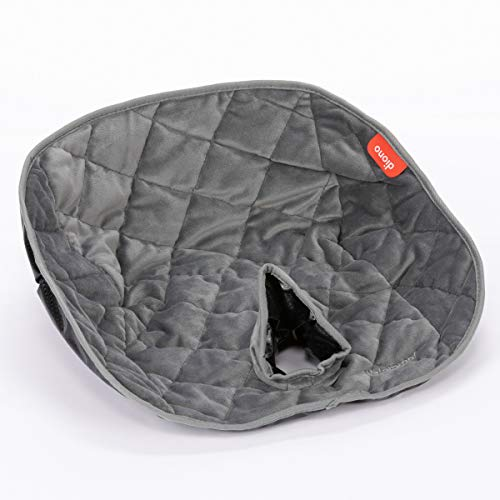 DiONO Dry Seat Child Car Seat Pad with Waterproof Liner Potty Training Seat Pads for Infants Baby and Toddlers, Grey (Ultra)