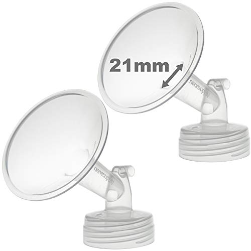 Nenesupply 21mm Flange Compatible with Spectra S2 Spectra S1 Breastpump. Made by Nenesupply. Not Original Spectra Pump Parts Not Original Spectra S2 Accessories Not Original Spectra Flanges