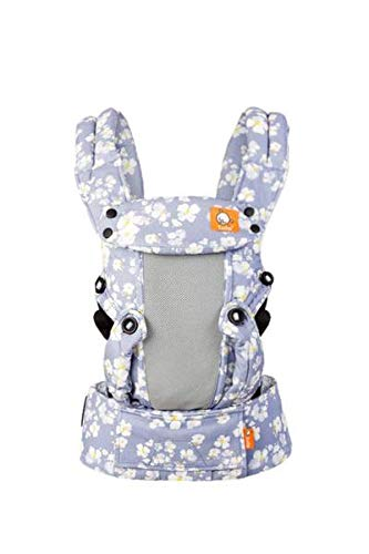 Baby Tula Coast Explore Mesh Baby Carrier, Adjustable Newborn to Toddler Carrier, Ergonomic and Multiple Positions for 7 – 45 pounds (Costa Sophia)