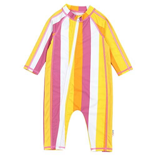 SwimZip UPF 50+ Girls Long Sleeve Sunsuit (Multiple Colors)