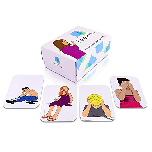 Speaking Cards: Emotion Cards for Kids | Feelings Cards Featuring Relatable Images | Therapy Cards Helping Kids Express Emotions | Conversation Tool for Therapists, Counselors, Teachers and Parents