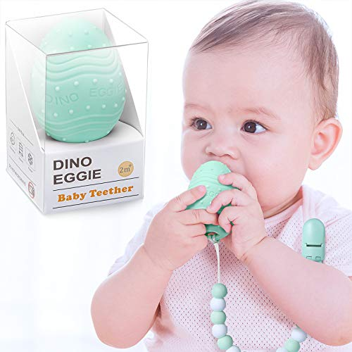 Dino Eggie Teether