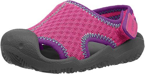 Crocs Kids' Swiftwater Sandal | Water Shoes | Slip On Kids' Sandals