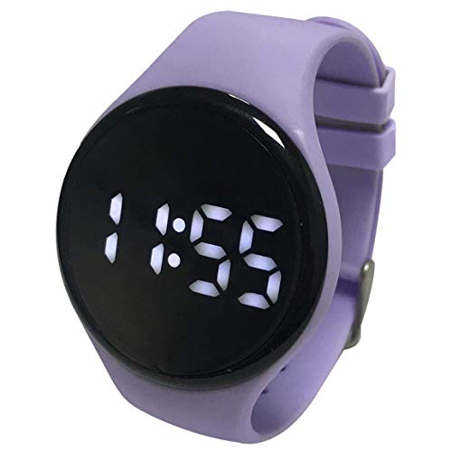 Kidnovations Premium Potty Training Watch - Toilet Training Timer - Rechargeable Water Resistant Digital Watch Reminder to Go Potty Vibrates and Plays Music Keeps Your Child Entertained at Potty Time