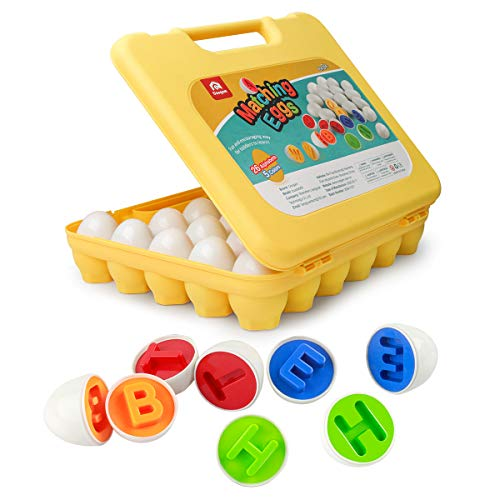 Letter Matching Eggs