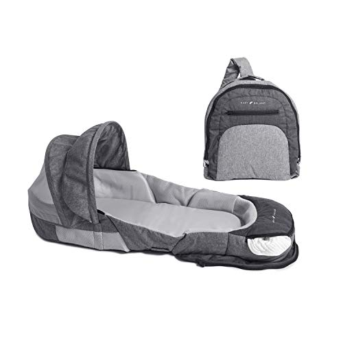 Baby Delight Snuggle Nest Adventure Portable Infant Sleeper