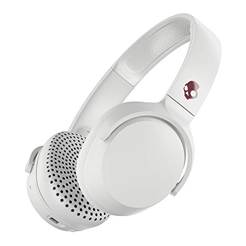Skullcandy Riff Wireless On-Ear Headphone - White/Crimson
