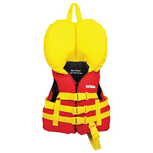 Airhead Infant's General Purpose Life Vest , Red