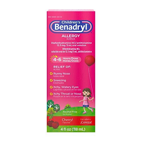 Children's Benadryl Allergy Liquid Medicine