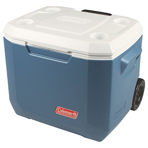 Coleman Portable Cooler with Wheels | Xtreme Wheeled Cooler, 50-Quart