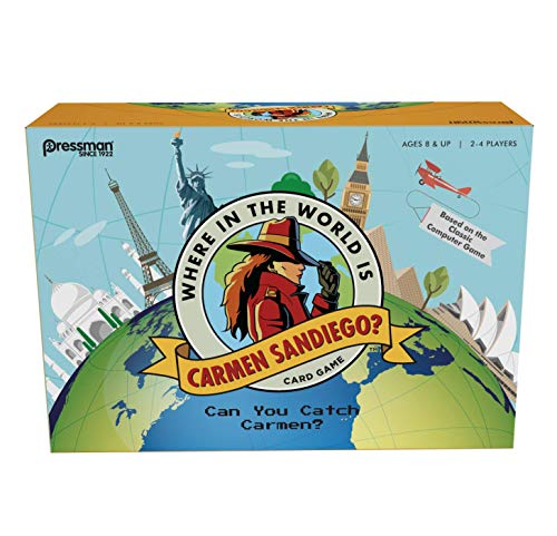 Where is the World is Carmen San Diego? Board Game