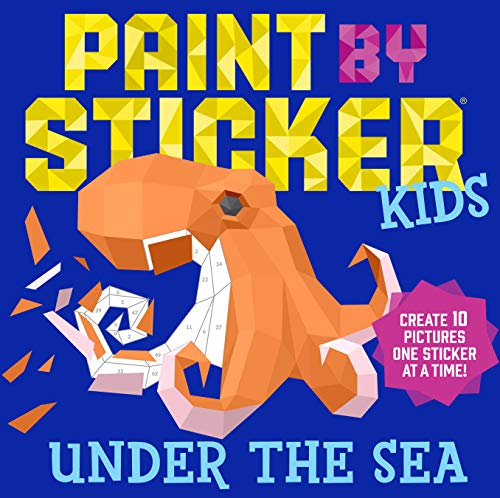 Paint by Sticker: Under the Sea