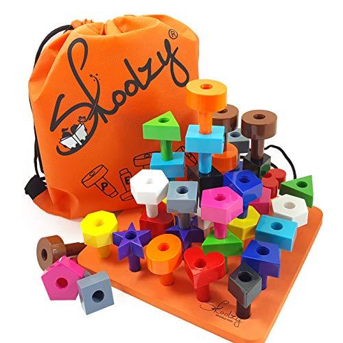 Peg Board Toddler Stacking Toys