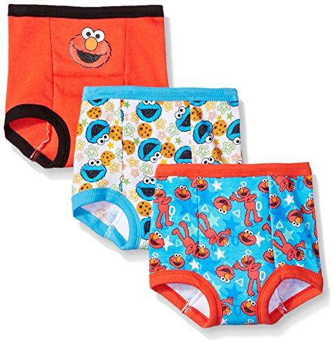 Sesame Street Baby Toddler Boys' Potty Training Pants Multipack, SesameB3pk, 2T
