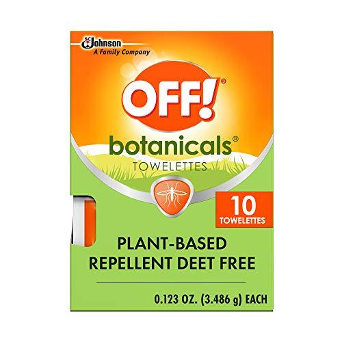 OFF! Botanicals Mosquito Repellent Towelettes