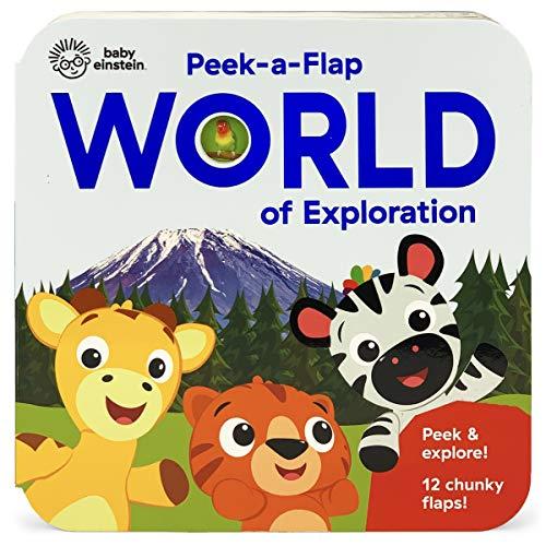 Baby Einstein World of Exploration: Peek a Flap Book