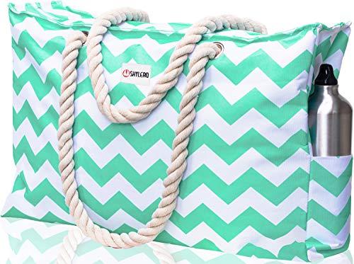Beach Bag and Pool Bag XL - L22xH15xW6 - Zippered