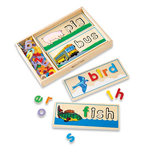 Melissa & Doug See & Spell Puzzles