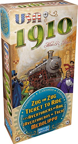 Ticket To Ride:USA 1910 Expansion