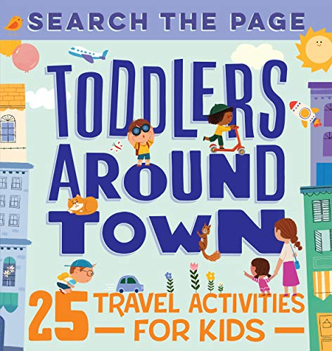 Toddlers Around Town Activity Book