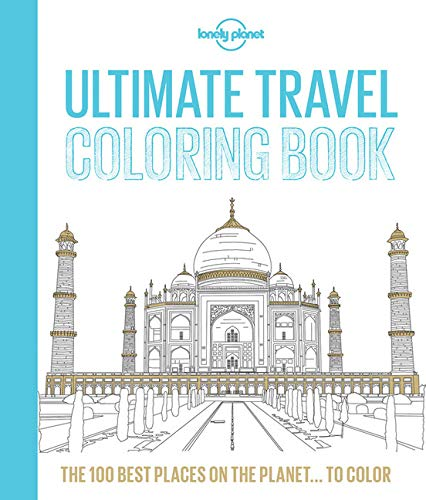Travel Theme Coloring Book