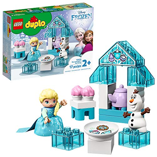 LEGO DUPLO Disney Frozen Toy Featuring Elsa and Olaf's Tea Party 10920 Disney Frozen Gift for Kids and Toddlers (17 Pieces)