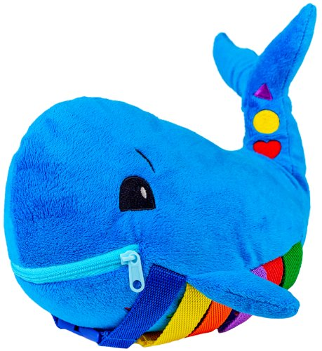 Buckle Toy - Blu Whale