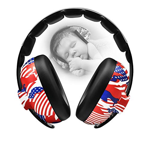 BBTKCARE Earmuffs Infant Hearing Protection – Ages 0-2+ Years – Industry Leading Noise Reduction Rating – Soft & Comfortable – Baby Headphones