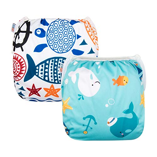 Swim Diapers Reusable for Toddlers