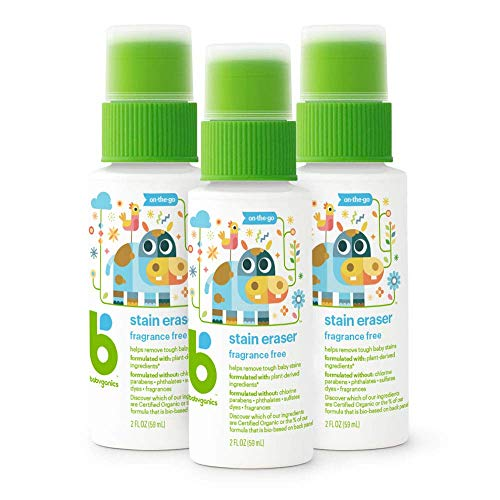 Babyganics Stain Eraser Marker, On-The-Go, Packaging May Vary, 2 Fl Oz (Pack of 3)