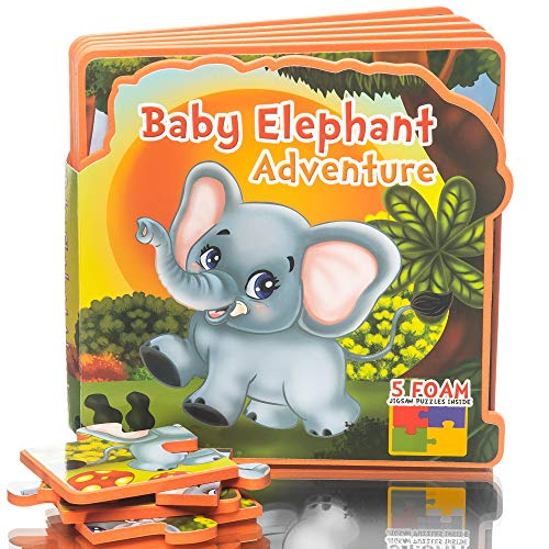 Toddlers Baby Elephant Adventure Toy Book