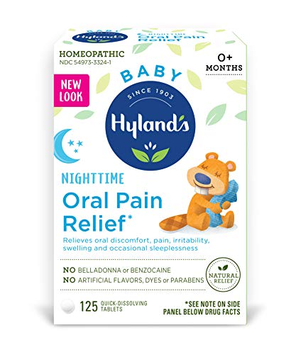 Hyland's Baby Nighttime Oral Pain Relief Tablets