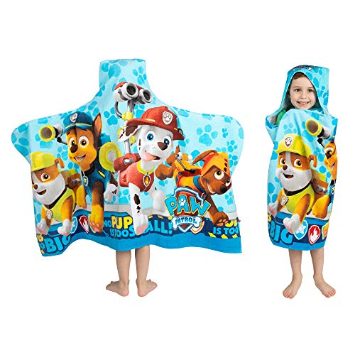 Kids Bath and Beach Terry Hooded Towel Wrap