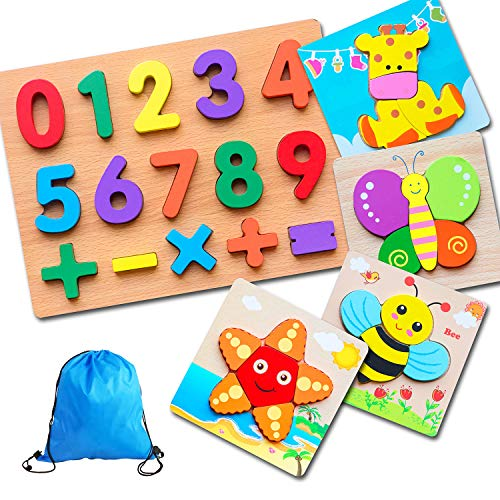 Wooden Learning Puzzle