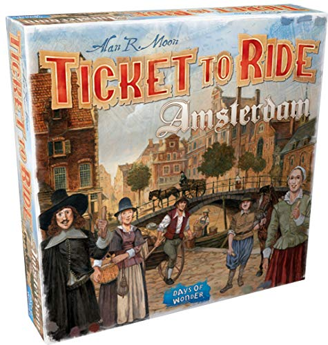 Ticket To Ride Amsterdamn