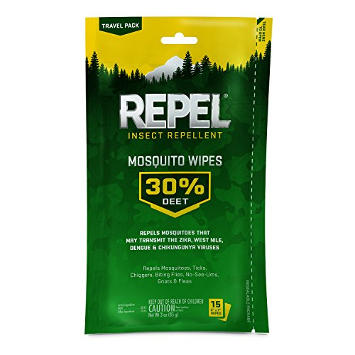 Repel Insect Repellent Mosquito Wipes