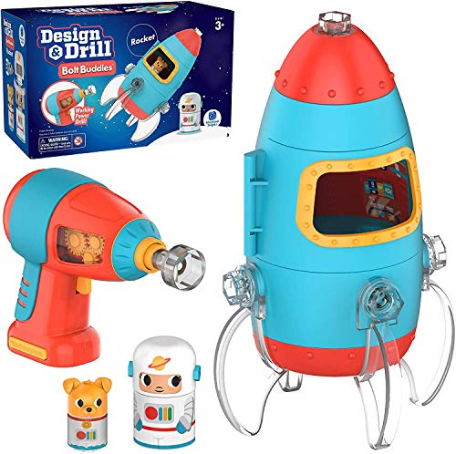Design & Drill Bolt Buddies Rocket