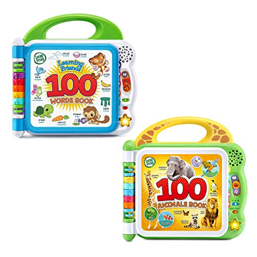 LeapFrog 100 Words and 100 Animals Book Set