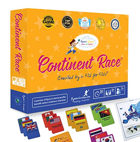 Continent Race: Geography for Kids