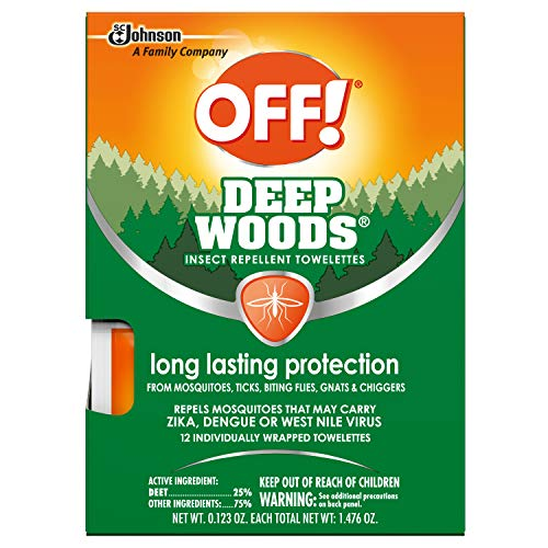 OFF! Deep Woods Towelettes
