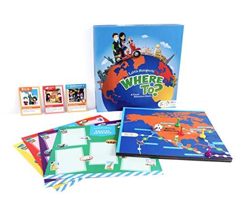 Little Passports Where to? Travel Adventure Board Game