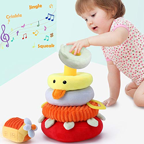 iPlay, iLearn Baby Stacking Toy